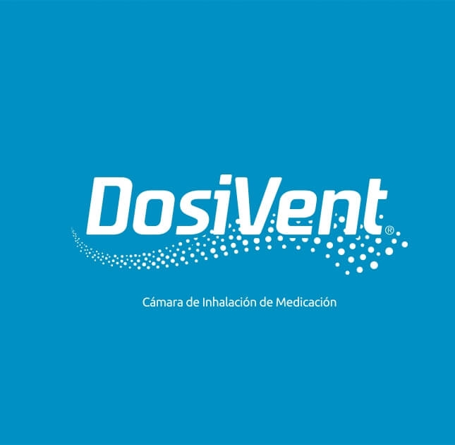 Dosivent branding and packaging